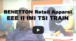 BENETTON Retail Apparel EEE II IMI TSI TRAIN