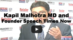 Kapil Malhotra MD and Founder Speech Times Now
