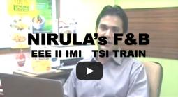 NIRULA s   F & B   EEE II   IMI   TSI   TRAIN