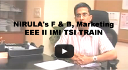 NIRULAs F & B Marketing EEE II IMI TSI TRAIN